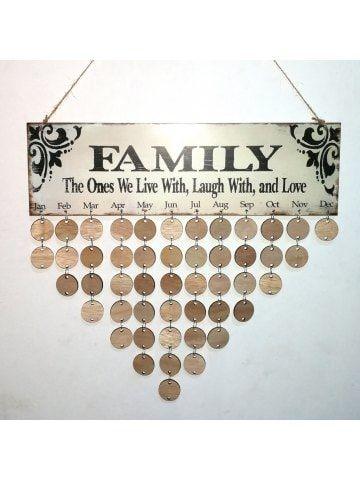 Best  Family Birthday Calendar Ideas On   Family
