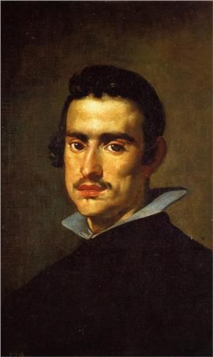 Portrait of a Young Man - Diego Velazquez.  1623-24. Oil on canvas.  56 x 38 cm.  Museo del Prado, Madrid, Spain.