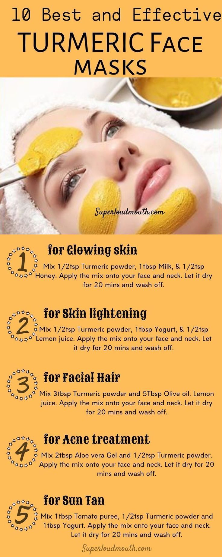 alle DIY Face für Gesichtsmasken Hautprobleme