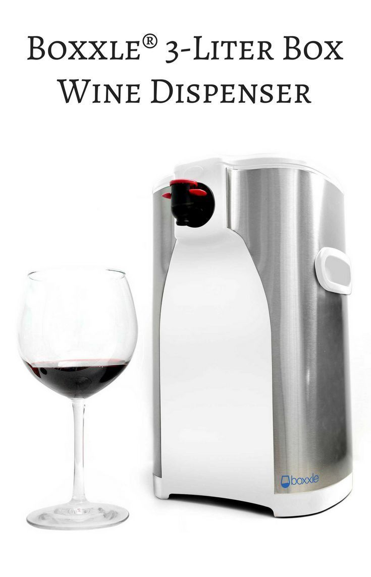 Affordable box wine dispenser that is the perfect addition to your home wine station. Boxxle®️️️ 3-Liter Box Wine Dispenser | Bed Bath and Beyond #wine #ad #winetime #kitchen #WineDispenser