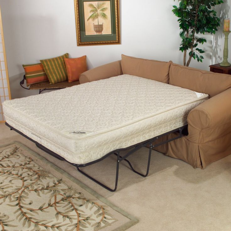 Fashion Bed Group Air Dream Sleeper Sofa Mattress | from hayneedle.com