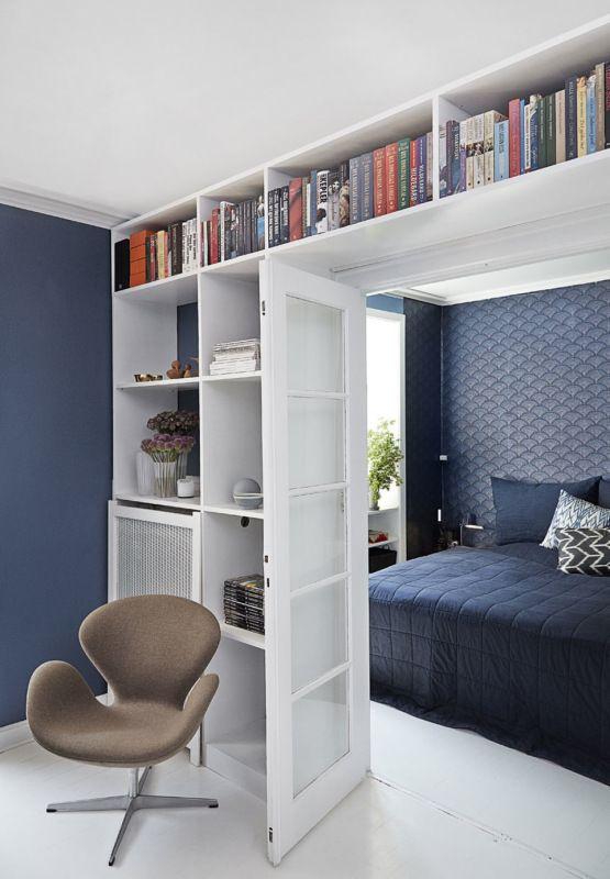 balance de azules en un piso en copenhague