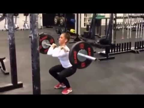 Suzanne Svanevik Workout | 17 years old girl workout | Cross Fit