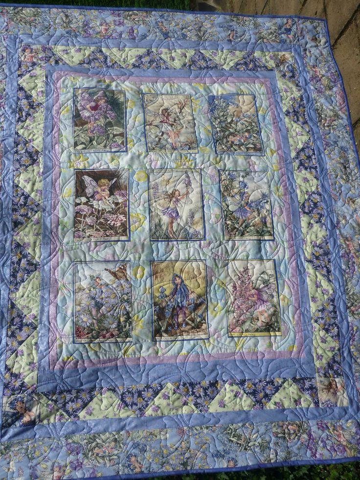 43 Best Fairy Quilts Images On Pinterest Flower Fairies