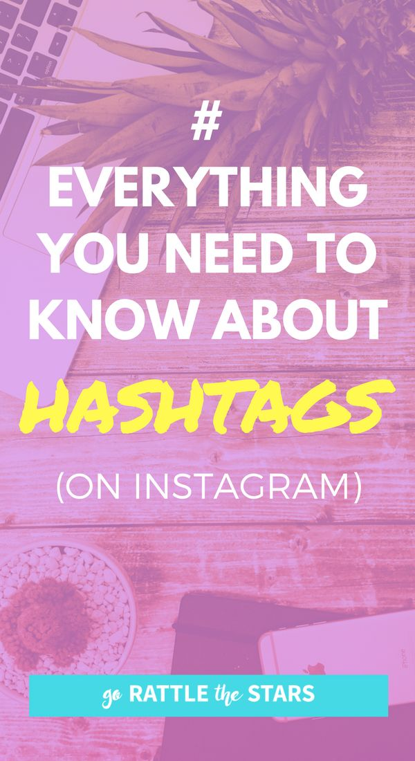 Everything you need to know about hashtags on Instagram. Find the best hashtags for your biz and your niche to passively grow your account (even while you sleep). Social Media | Blogger Tips