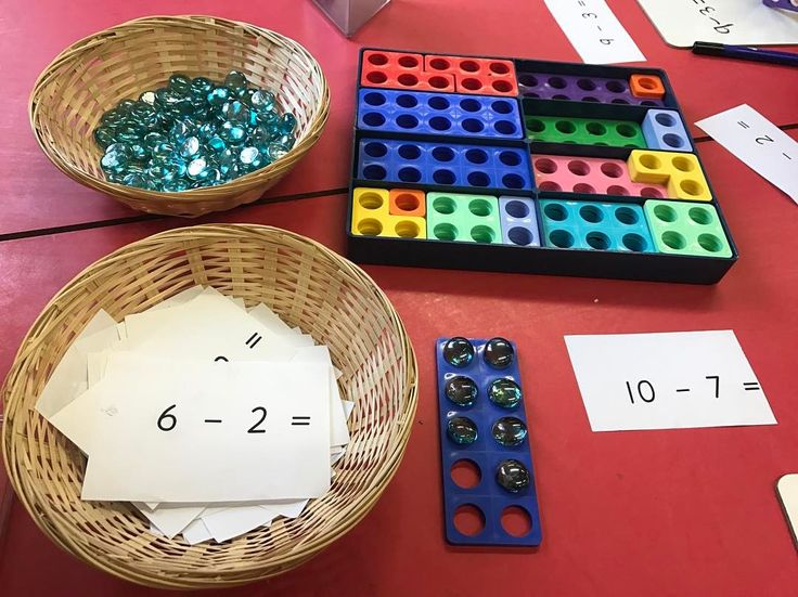 """14 Likes, 1 Comments - Foundation Team - Ella & Nicky (@eyfsbadgerclass) on Instagram: """"We are doing subtraction this week. This is one of our subtraction activities using numicon. The…"""""""