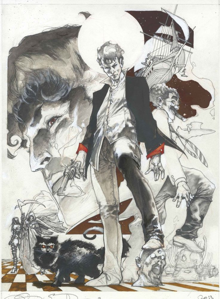 Dylan Dog color fest cover pencil by simonebianchi on DeviantArt