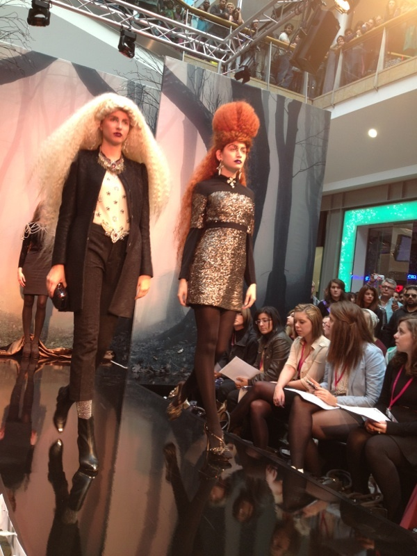 @69mag take front row on the catwalk at The Show: Enchanted.