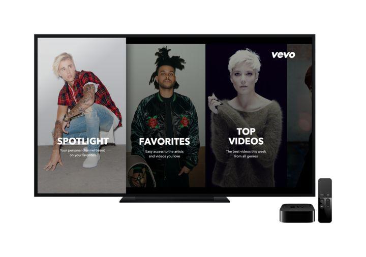 Vevo apple TV.