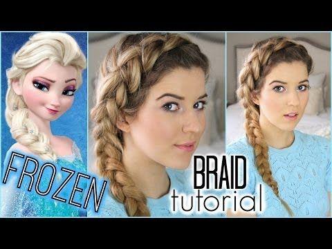 ▶ Frozen Tutorial: Elsa Inspired Braid - YouTube