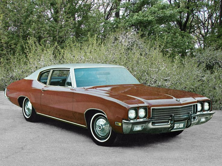 Buick Skylark Buick Skylark Coupe 43327 39 1972 Buick