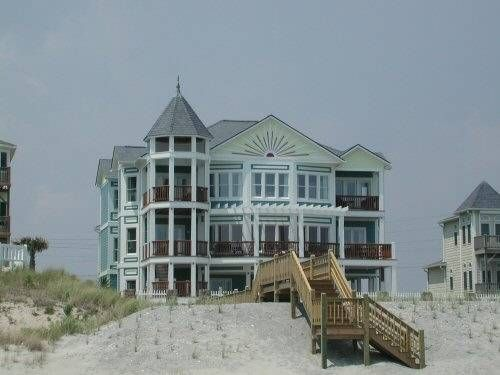 3107 Ocean Drive Emerald Isle Nc Oceanfront 6 Bedrooms 8 Baths Pool Person Hot Tub Large Rec Room Our Beach Als Pinterest Vac
