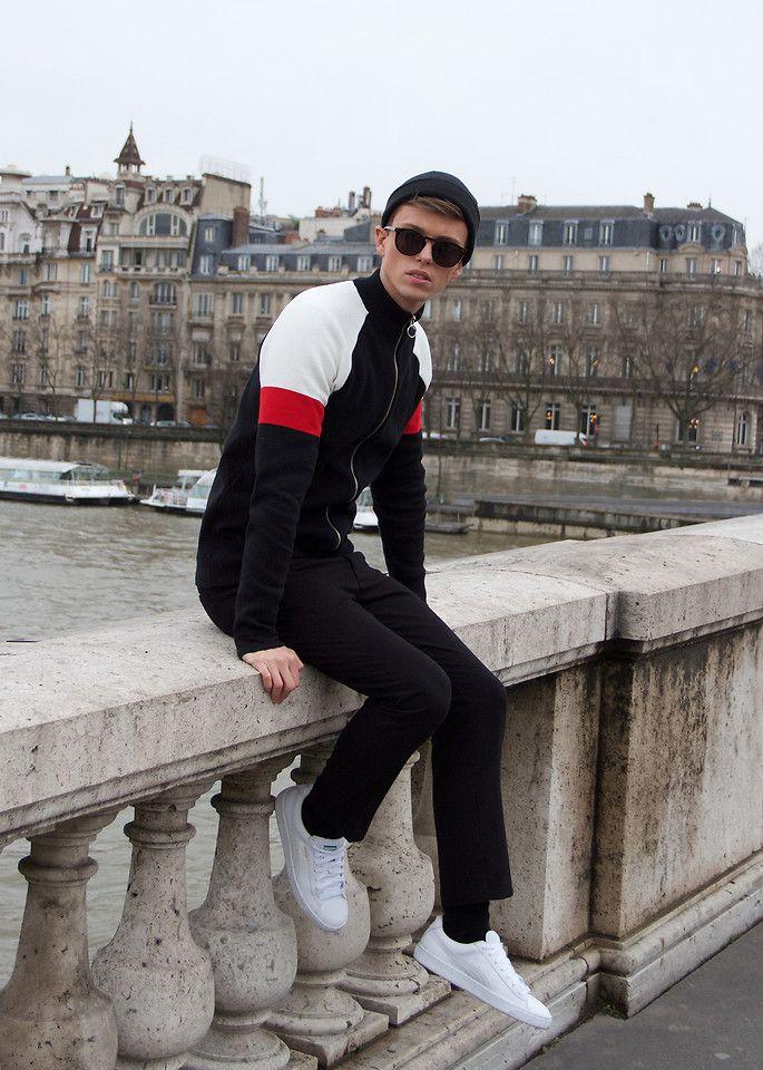 #menswear #mensstyle #ootd #outfit #look #fashion #streetstyle #coat #zara #zarainternational #knit #knitwear #pullover #turtleneck #asos #asos_de #asos_fr #submission #submit #lookbook #grey #gray #white #black #cumberbund #belt #trousers  #boots #allsaints #trousers #aceandtate #drmartens #sunglasses #summer #puma #croppedpants #urbanoutfitters