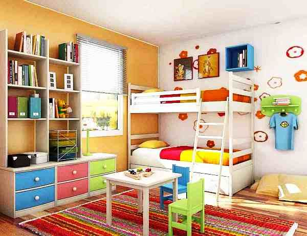 Fabulous Design On Wall Colors For Small Rooms with Colorful Teens: Colorful Kids Bedroom Amazing Wall Colors For Small Rooms Ideas As Appealing Veengle Illustration ~ ovceart.com Wall Decors Inspiration
