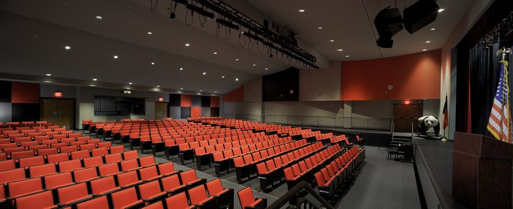 Pgal Pershing Middle School Auditorios Pinterest