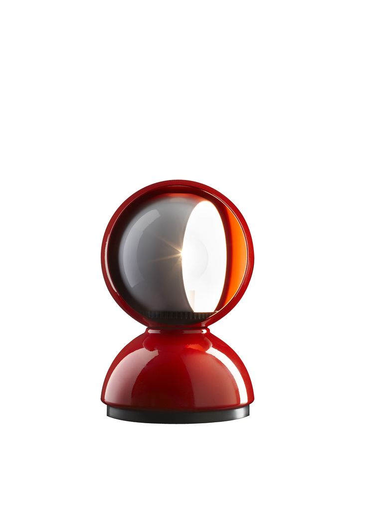 Eclisse RED- LIMITED EDITION by Vico Magistretti Available between Dec 1- Dec 31, 2014 at select Artemide showrooms.