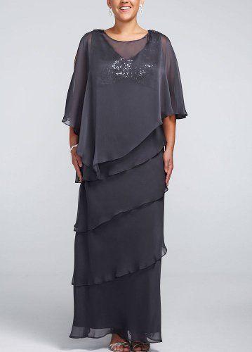 Plus Size Multi Tiered Long Caplet Chiffon Dress Steel David's Bridal,http://www.amazon.com/dp/B00DVJC3KW/ref=cm_sw_r_pi_dp_mMIltb1K8P47PRNQ