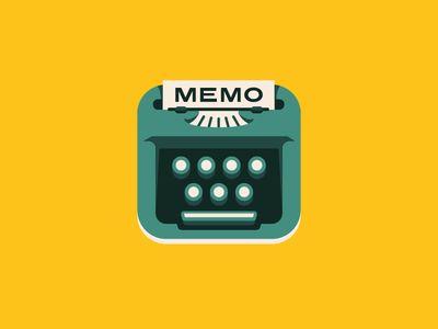 Memo App Icon