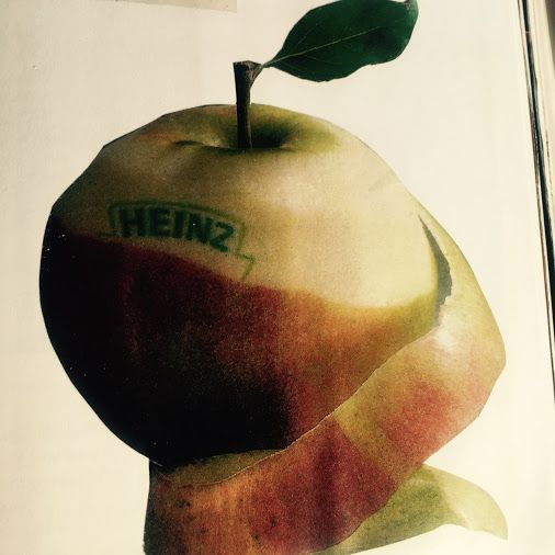 #Heinz #retro advert from the 90s - but can anyone name the product? #print #design #inlovewith
