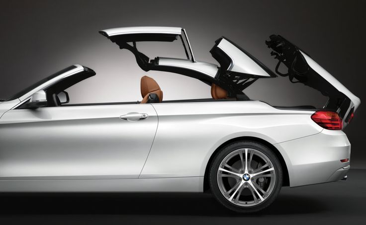 Retractable Hardtop Of The Bmw 430i Convertible In Mineral White Metallic Convertible Hardtop Metallic Mineral Retractable White Bmw Cabrio Bmw 4er Bmw