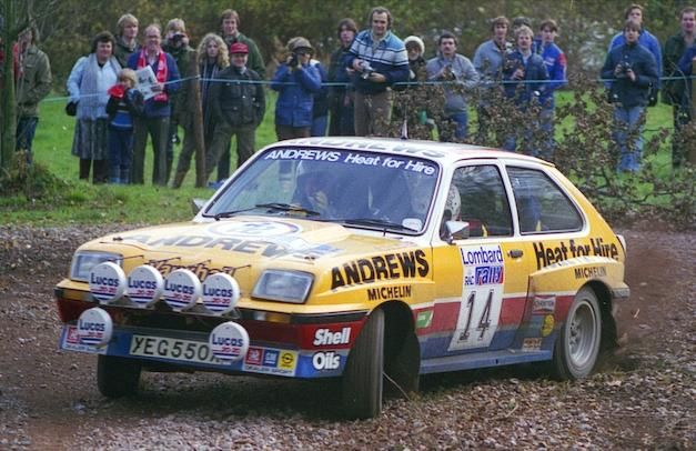 Vauxhall Chevette 2300HS Rally