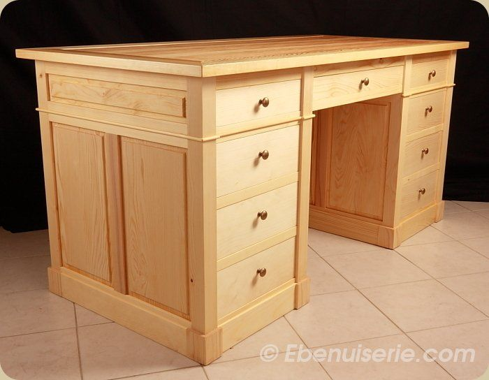 Good table de bureau en bois comparatif caisson de bureau en