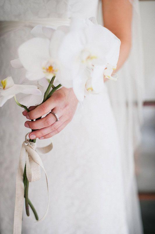 Букет, букет невесты орхидеи капля