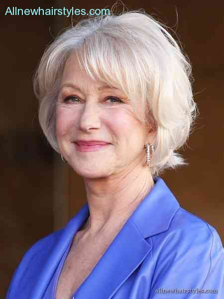 Hairstyles women over 60 years old