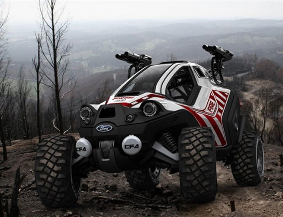 ATV Firefighting Concept