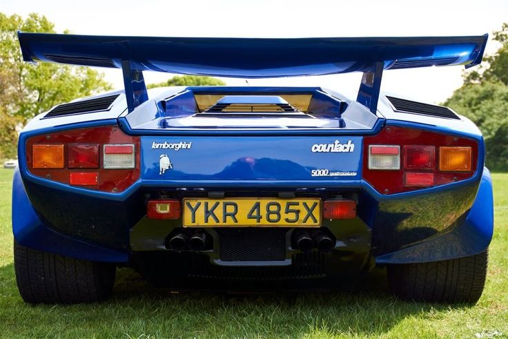 Lamborghini Countach Lp 5000 Quattrovalvole Replica Kit Car Mirage Prova Sienna | eBay