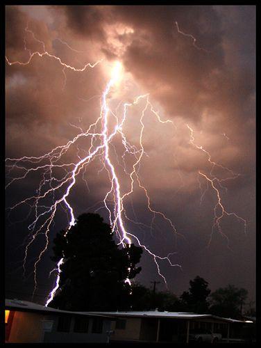 Lightning Tucson,Arizona