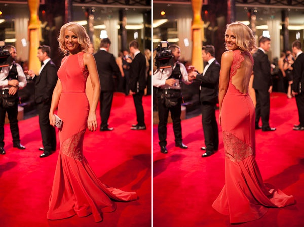 Steven khalil Dress worn by Carrie Bickmore