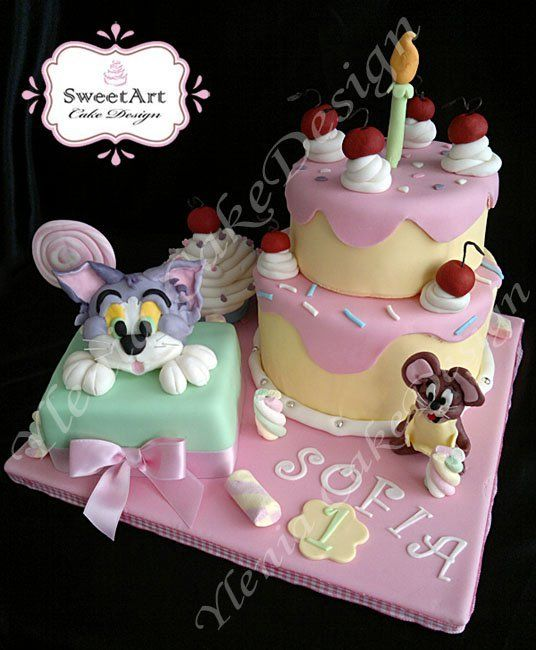 Tom And Jerry Cakes Pinterest