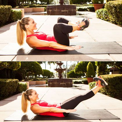 Lose the Pooch! The Best Exercises for Lower Abs. 90-Degree Static Press, Resisted Single-Leg Stretch, U-Boat, Reverse Plank Hover, Criss-Cross Lift and Switch, Inching Elbow Plank, Full Plank Passé Twist, Frog Press