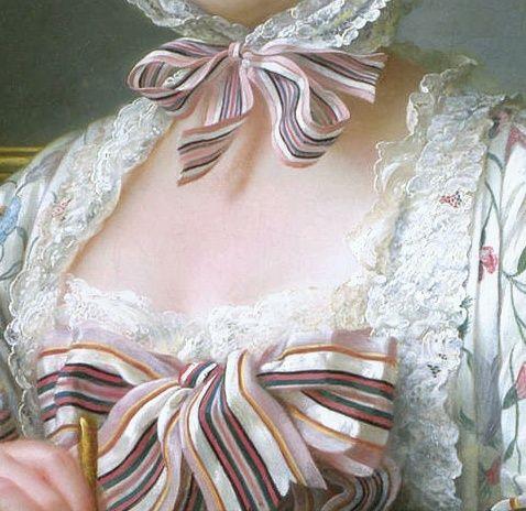 Madame de Pompadour at her Tambour Frame, by François Hubert Drouais (French, 1727–1775)