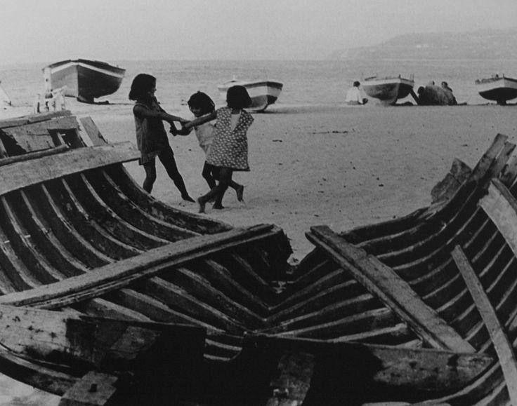 Pepi Merisio, Sulla spiaggia, Tropea