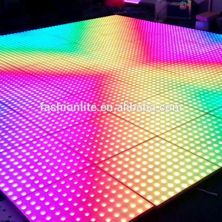 p50 video floor Illuminated LED Pixel RGB Visualisation Dance Floor