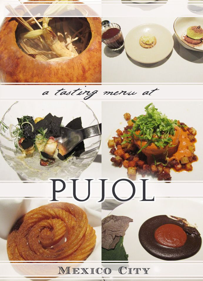 Lunch at Pujol