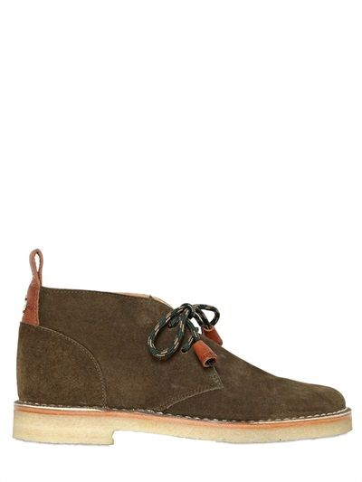20MM SUEDE CHUKKA BOOTS