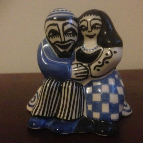 'Loving Couple'. Bernard Moss; Mevagissey Pottery Figure | eBay