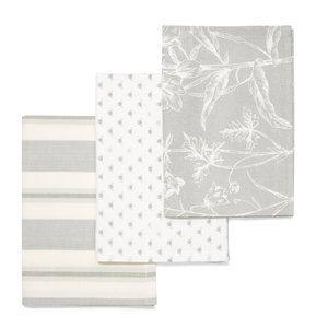 Lisette Set Of 3 Tea Towels