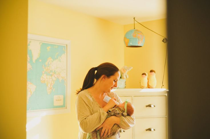 Give them the travel bug early, but integrating maps, etc. into their nursery! #AwayWeGo