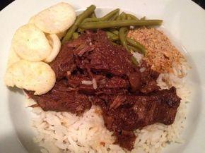 Smoor Dwaja, heerlijk gekruid stoofvlees. Lekker met rijst maar ook over de friet of bij de zuurkool.