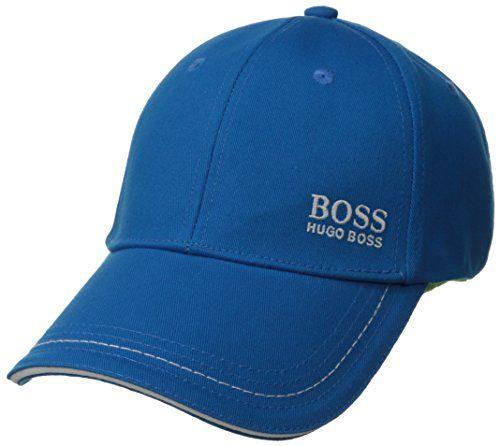 Hugo Boss Men's Cap 1 Basic Twill Cap, Bright Blue, One Size