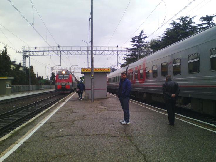 Подъездные пути станции Фили