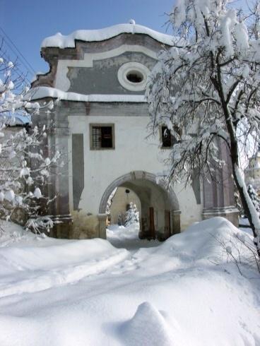 Slovakia, Banská Štiavnica - Piargska gate