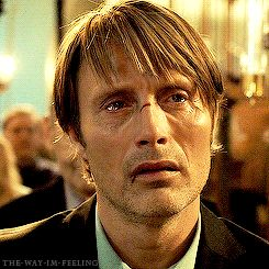 Mads's scene in church from The Hunt was so powerful and well done by this genius actor so it always makes me cry and adore this at the same time