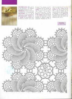 Crochet esquemas patrones - Imagui