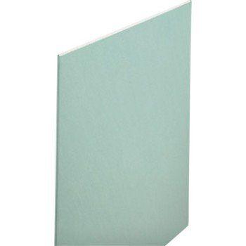 Plaque de plâtre Hydro CE H2 2.5 x 1.2 m, BA 13, entraxe 60 cm | Leroy Merlin