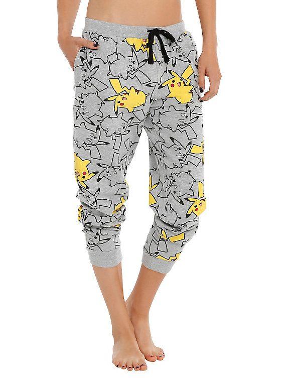 Pokemon Pikachu Girls Pajama Pants,